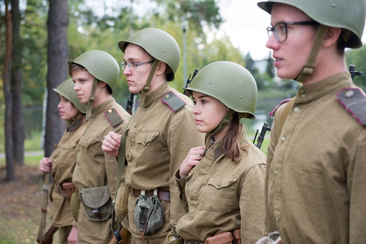 """В проекте """"Аты баты шли солдаты"""" приняли участие студенты ТИСБИ"""