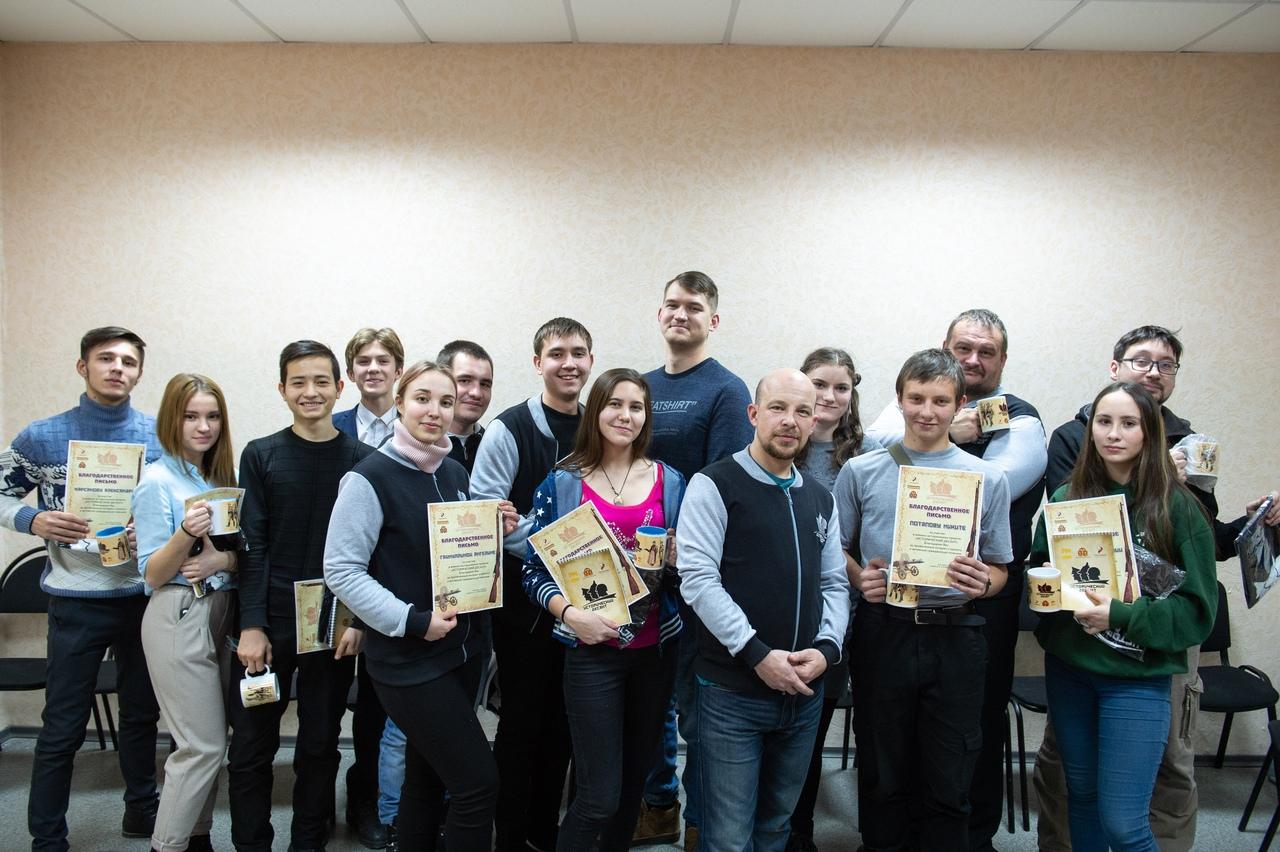 """Награждение активистов проекта """"Исторический десант"""""""